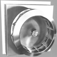 Replacement blower impeller blade wheel