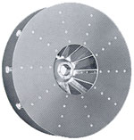 Replacement blower impeller wheel blade