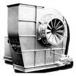 Heavy duty industrial proces Class IV fan blower