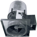 Smoke exhaust fan roof exhauster