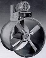 Axial inline blower tubeaxial fan TCF