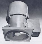Tubeaxial Roof Exhaust Fan Ventilator Blower