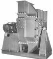 Industrial process blower fan