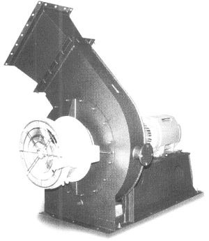Industrial fan blower F.D. ventilator I.D.